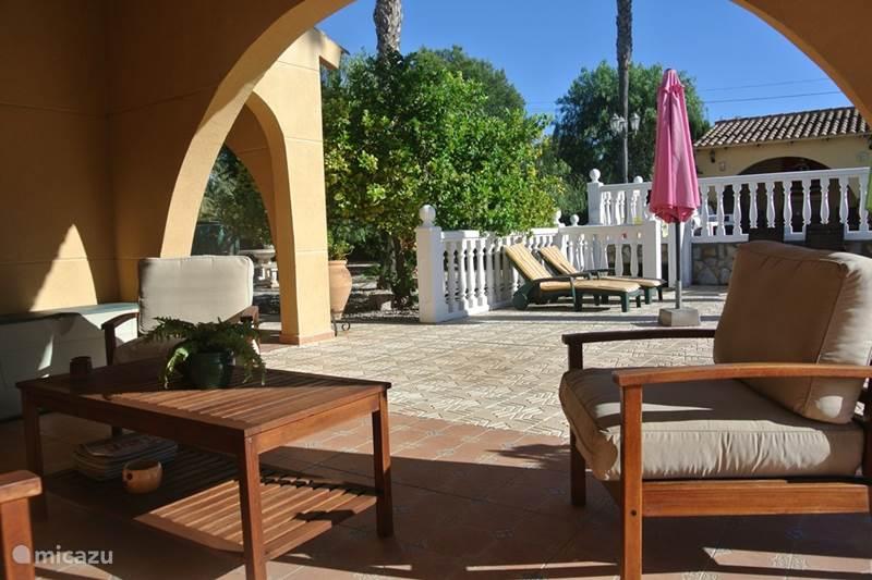 Vakantiehuis Spanje, Costa Blanca, Elche Vakantiehuis Casa El Viñedo