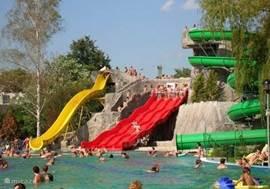Aqua park op 30 min
