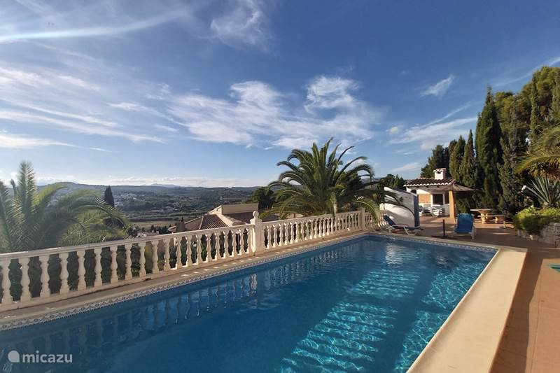 Vacation rental Spain, Costa Blanca, Moraira Villa Villa Alboraya (large private swimming pool)