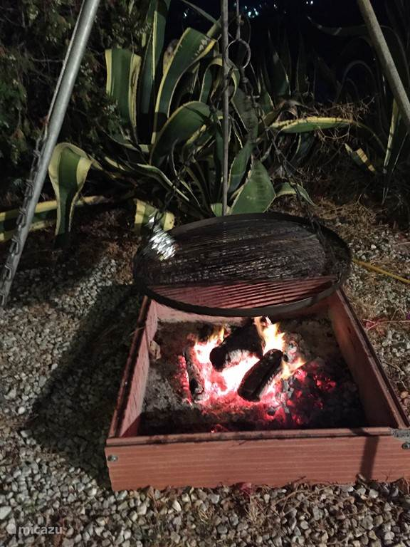 Voor de ware grillmasters onder ons ... Barbacoa en fuego abierto ...