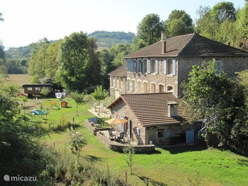 Vakantiehuis Frankrijk, Ardèche, Désaignes vakantiehuis Marguerite. Gite Le Massoir
