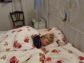 lekker bed......