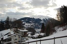 View Hochjoch (Schruns) in winter.