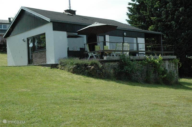 Vacation rental Belgium, Ardennes, Opont Bungalow Brigitte