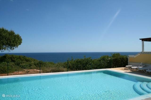 Vakantiehuis Portugal, Algarve, Benagil Vakantiehuis Casa Rosa Azul
