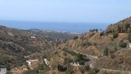 Wat een heerlijk uitzicht vanaf casa tres