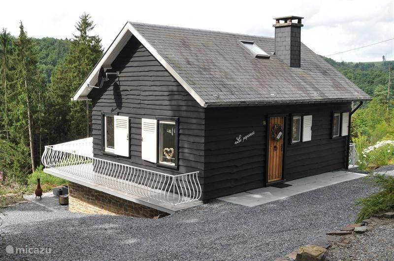 Vakantiehuis België, Ardennen, La Roche-en-Ardenne chalet Maison Les Papooses