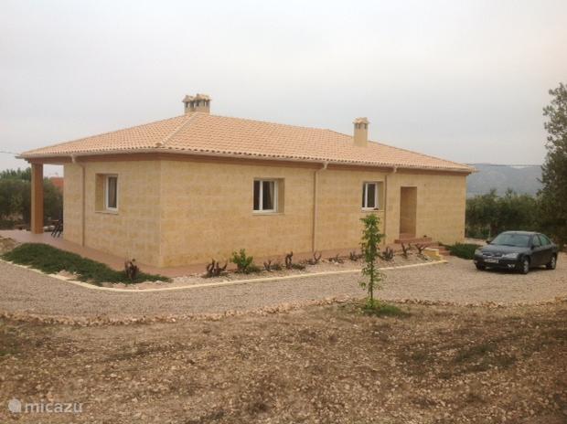 Vacation rental Spain, Costa Blanca, Villena villa Casa Alegria