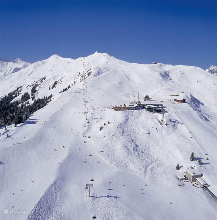 Skigebied Golm van Tschagguns