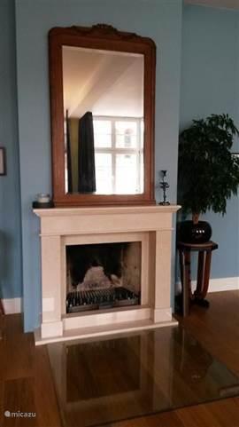 Openhaard woonkamer