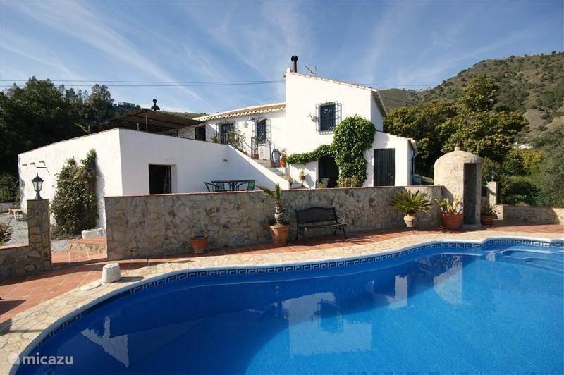 Vakantiehuis Spanje, Andalusië, Cómpeta - finca Finca La Estrella de Cómpeta