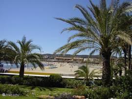 Je bent slechts een paar minuten verwijderd van het mooie en goed verzorgde zandstrand van Arenal.