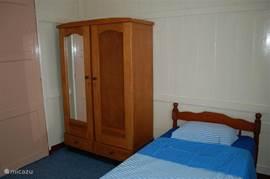 Een gezellige 1 persoons-kamer met de mogelijkheid tot plaatsing van een  2e bed.