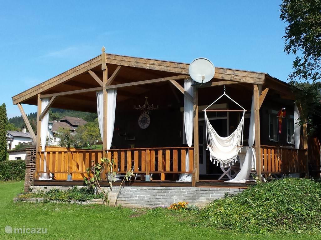 Vakantiehuis Oostenrijk, Karinthië, Lukowitz - vakantiehuis Arethusa-Vakantiehuisje in Lukowitz