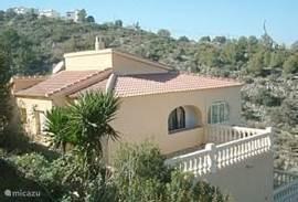 Villa La Buena Vida van bovenaf gezien zodat de omgeving tot uw verbeelding kan spreken.