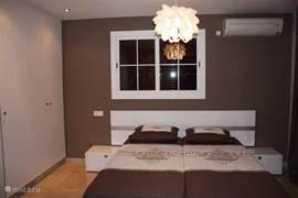 2 persoons slaapkamer met airco