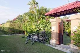 This villa is situated in a quiet villa complex, with each villa offers maximum privacy.