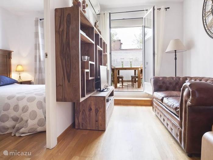 Vakantiehuis Spanje, Barcelona, Barcelona appartement Appartement Atico de dos olivos