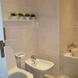 Separate badkamer, toilet en bidet