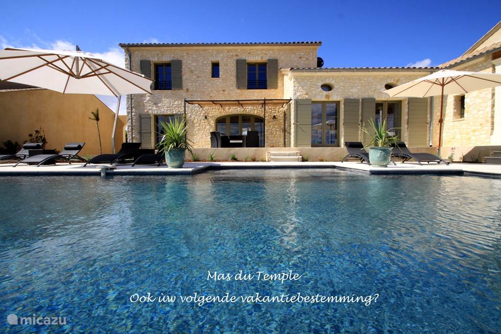 Vacation rental France, Languedoc-Roussillon, Uzes villa Mas Du Temple