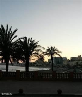 Zonsondergang in Benalmádena