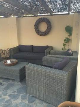 Patio met lounge set