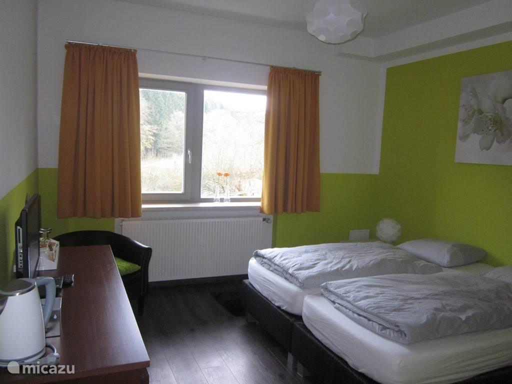 Overzicht van de slaapkamer