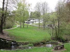 Uitzicht op Villa Boskoop.