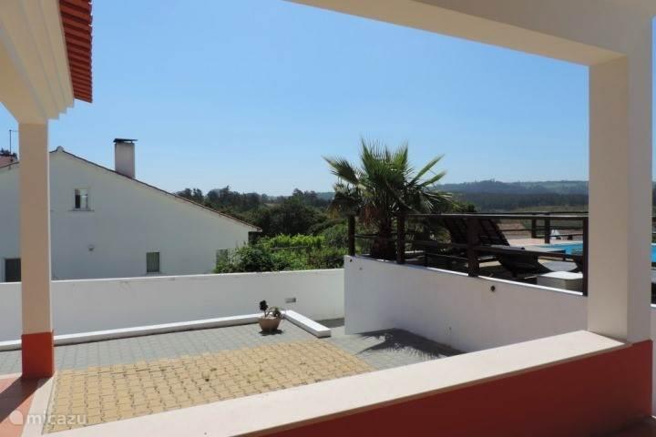 Uitzicht vanaf de veranda van Casa Pêra