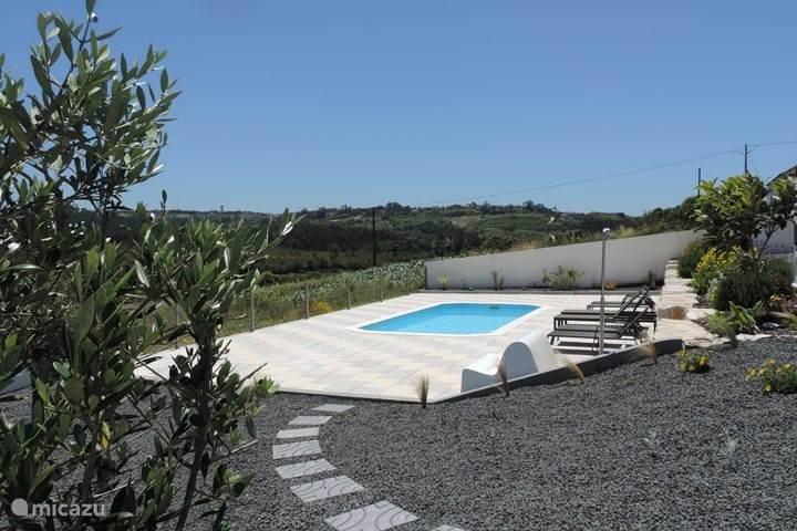 Het zwembad van Casa Limão.