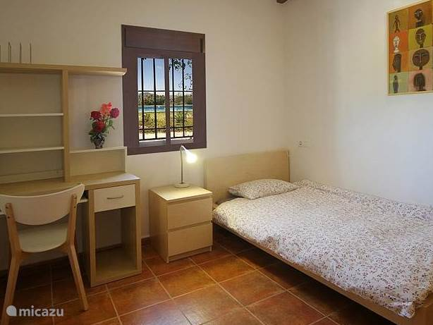 slaapkamer 3 met bureautje