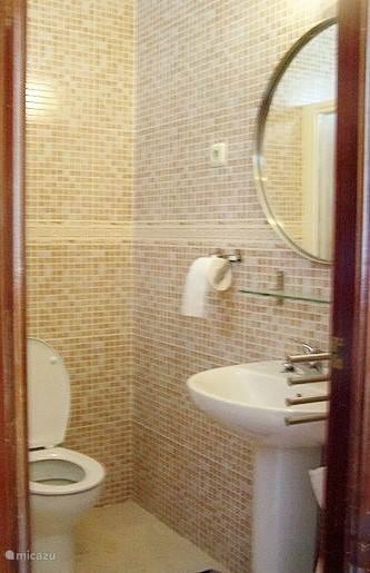 badkamer / toilet en wastafel