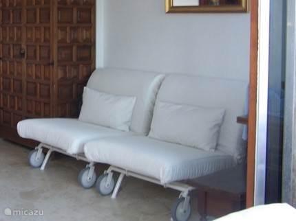 2x eenpersoons bedbanken