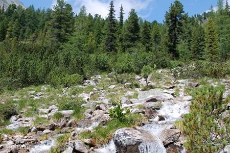 Krakaudorf, with beautiful lakes, mountains and waterfall