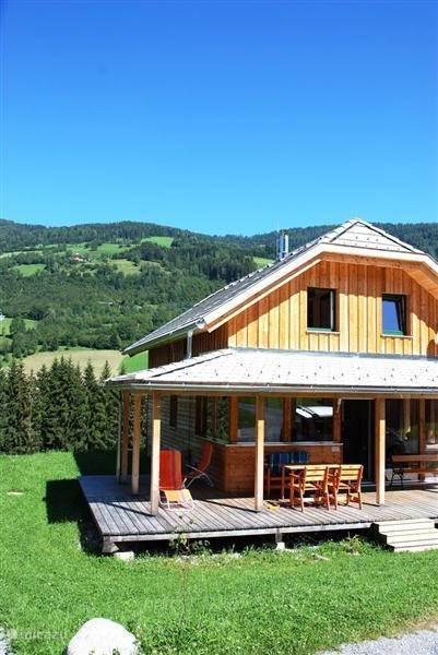 Vakantiehuis Oostenrijk, Stiermarken, Sankt Georgen ob Murau Chalet Bojahouse