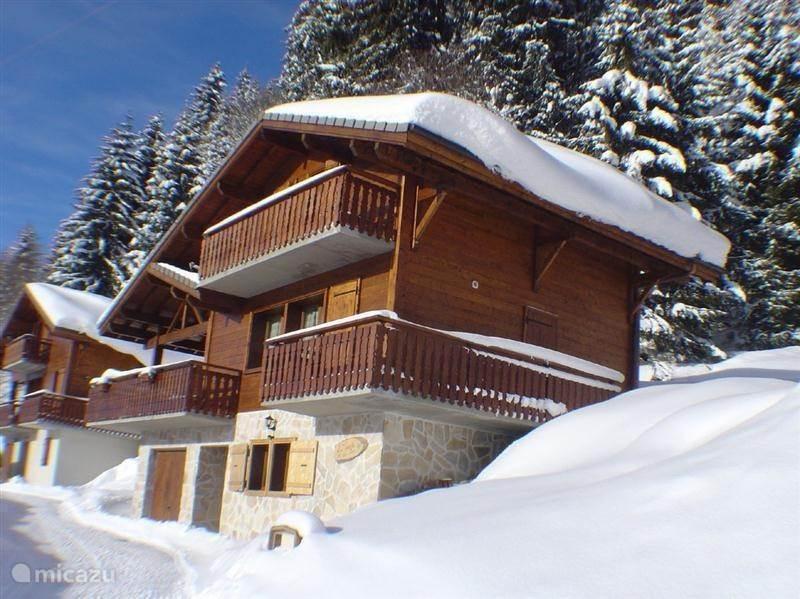 Vakantiehuis Frankrijk, Haute-Savoie, Les Gets - chalet Chalet La Porte du Bois te Les Gets