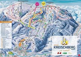 Kreischberg biedt volop pistes voor de geoefende en beginnende skiërs. Er zijn voldoende zwarte, rode en blauwe pistes voor weken skiplezier. Met moderne sneeuwinstallaties is er perfecte sneeuw tot het einde van het seizoen. Snowboarders kunnen met de grootste half-pipe van Europa hun hart ophalen