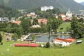 Met meer dan 200 zonnedagen per jaar is het Freibad een welkome tijdsbesteding.