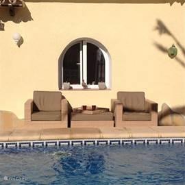 Een heerlijk plekje om te relaxen.