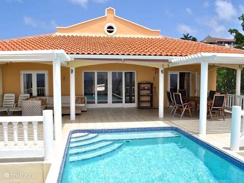 Vakantiehuis Curacao, Banda Abou (west), Coral-Estate Rif St.marie Vakantiehuis Villa Ocean Paradise