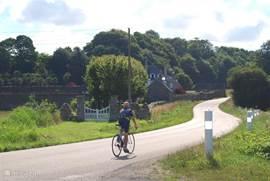 Bretagne is ook uitstekend geschikt om fietsend te ontdekken.