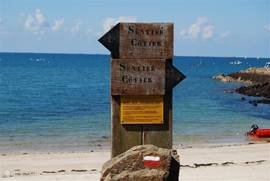Het 'Sentier des douaniers' is een oud douanepad langs de gehele Bretonse kust. Dit wandelpad brengt je langs de mooiste plekken.
