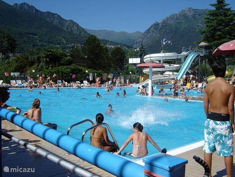Vakantiehuis Italië, Italiaanse Meren, Porlezza Chalet Porlezza chalet heel mooie ligging!