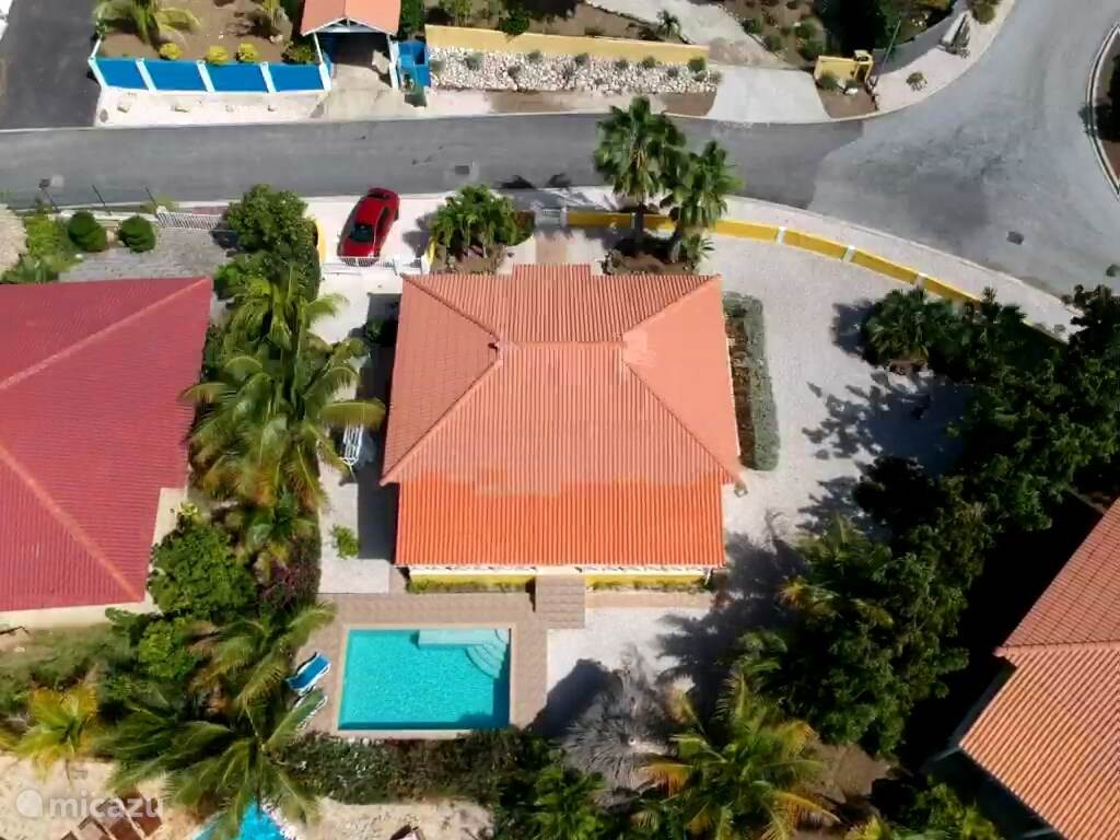 Vakantiehuis Curaçao, Banda Abou (west), Fontein Vakantiehuis Villa Flamboyant