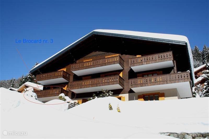 Vacation rental Switzerland, Wallis – apartment 6 pers.app. Morgins Portes du Soleil