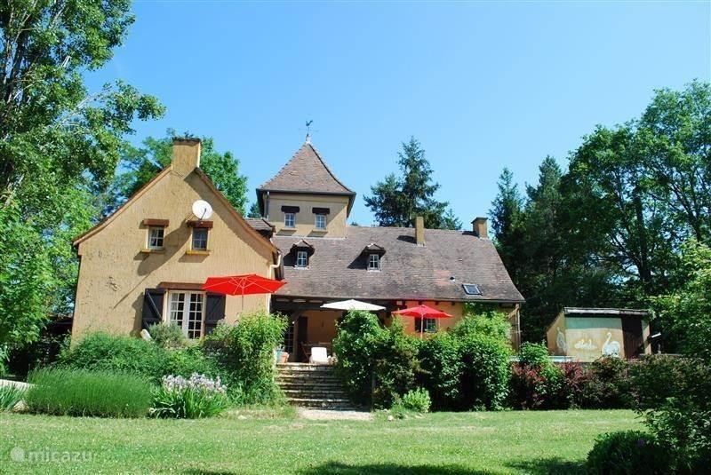 Ferienwohnung Frankreich, Dordogne, Bouzic Landhaus / Schloss Maison les Bois