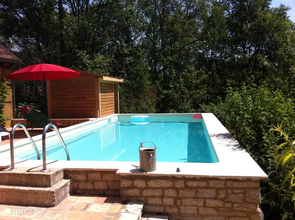 Der neue Pool.