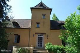 De voorkant van het huis.