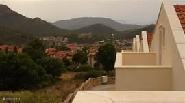 uitzicht vanuit slaapkamer 3