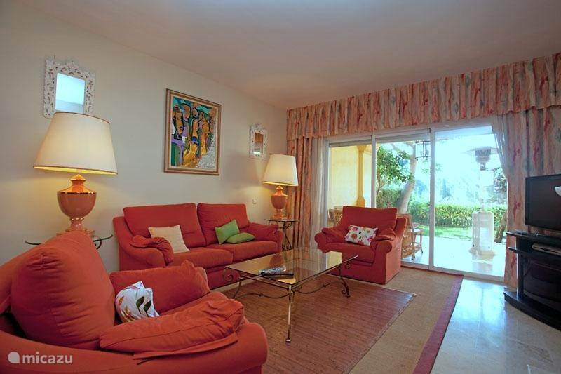 Vakantiehuis Spanje, Costa del Sol, Marbella Geschakelde woning Golfwoning Rio Real Marbella